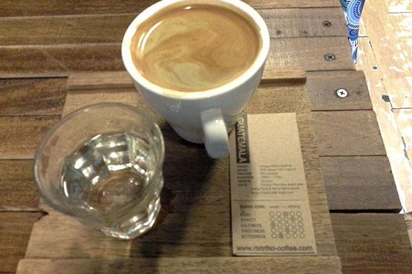 Kaffeetrinken währen der Arbeitszeit